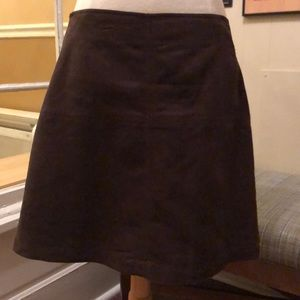 NWT Sanctuary Faux Suede Brown Skirt